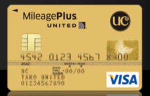 MileagePlus UCゴールドカード
